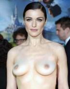 Rachel Weisz Topless Red Carpet 001