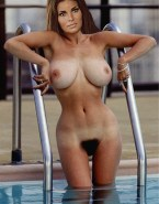 Raquel Welch Pool Hairy Pussy Fakes 001