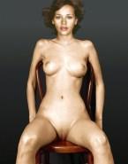 Rashida Jones Tits Legs Spread Pussy Fake 001