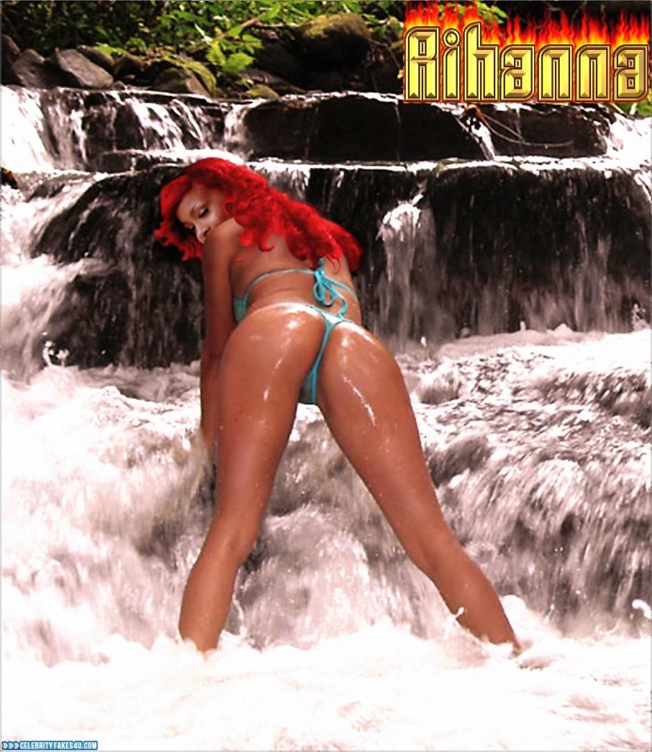 Think, that Rihanna pussy wet porn sex