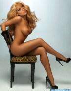 Rihanna Legs Blonde Porn Fake 001