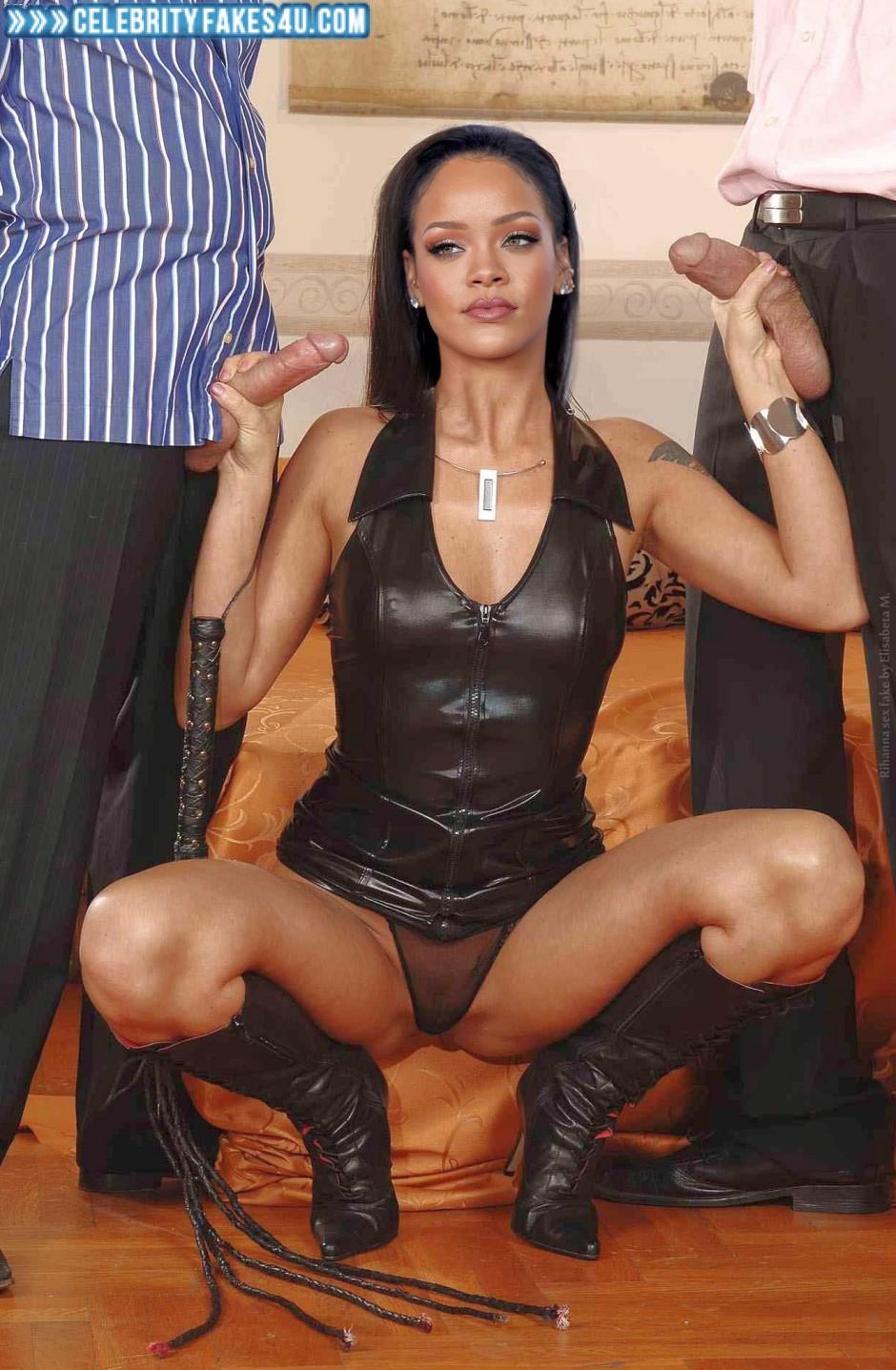 Rihanna fake porn