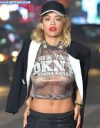 Rita Ora See Thru Tits Xxx Fake 001