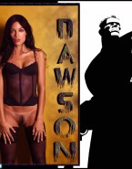 Rosario Dawson Lingerie Pantieless 001