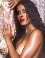 Salma Hayek Exposed Breasts Naked 001