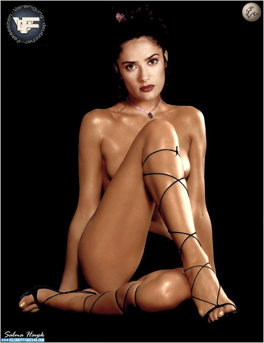 Salma Hayek Fake, Nude, Porn