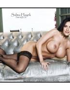Salma Hayek Stockings Tits Nudes 001