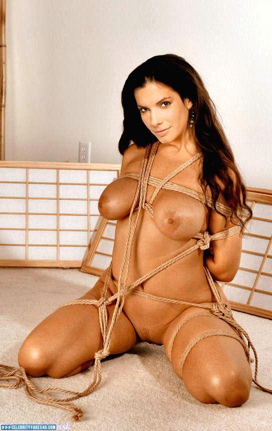 Sandra bullock ass porn pics