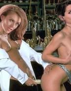 Sandra Bullock Boobs Squeezed Strap On Lesbians Nudes 001