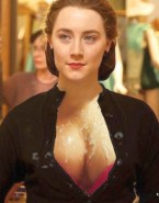 Saoirse Ronan Great Tits Chest 001