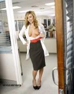 Sarah Chalke Skirt Exposing Breasts 001