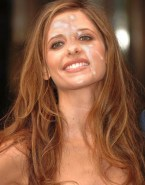 Sarah Michelle Gellar Cumshot Facial 001