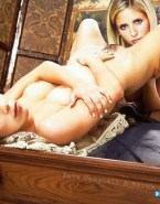Sarah Michelle Gellar Lesbians Eat Pussy Nudes 001