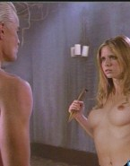 Sarah Michelle Gellar Nice Tits Buffy The Vampire Slayer 001