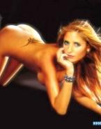 Sarah Michelle Gellar Nude Ass 002