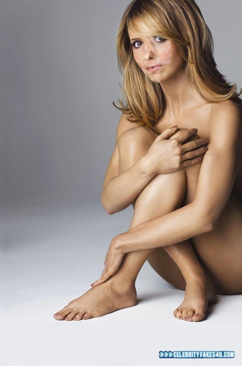 Sarah Michelle Gellar Fake, Cum Facial, Cumshot, Feet, Nude, Porn