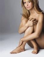 Sarah Michelle Gellar Nude Cumshot Facial 001