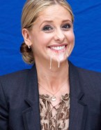 Sarah Michelle Gellar Swallows Cum 001