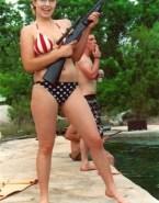 Sarah Palin Bikini Homemade Hacked Porn 001