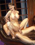 Sarah Palin Reverse Cowgirl Boobs Sex 001