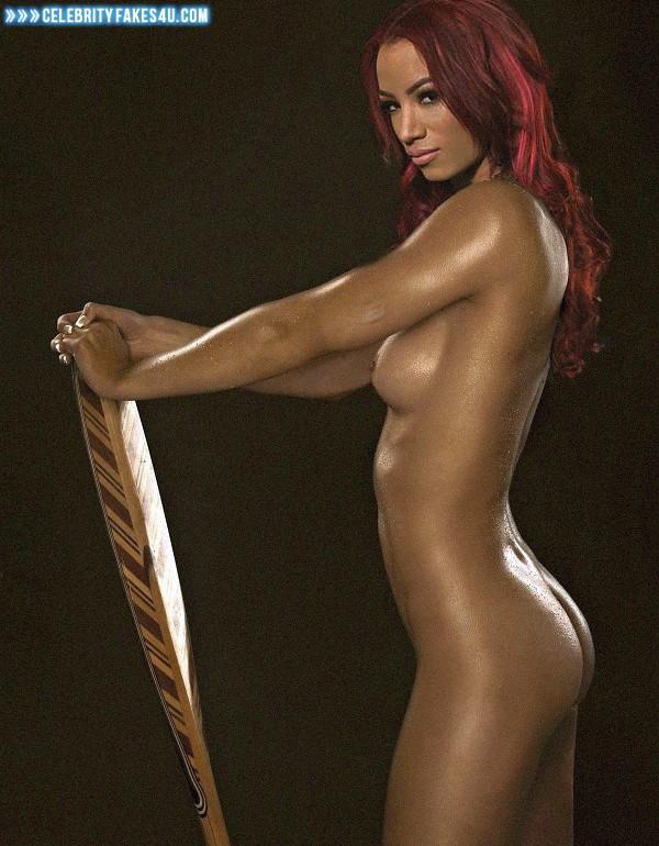 Naked sasha banks 16 Not