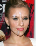 Scarlett Johansson Facial Cumshot Porn 001
