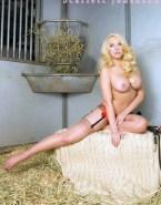 Scarlett Johansson Stockings Busty Nsfw 001