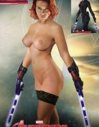 Scarlett Johansson The Avengers Large Tits 001