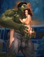 Scarlett Johansson Cartoon The Avengers Porn Sex 001