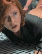Scarlett Johansson Cumshot The Avengers Nsfw Sex 001