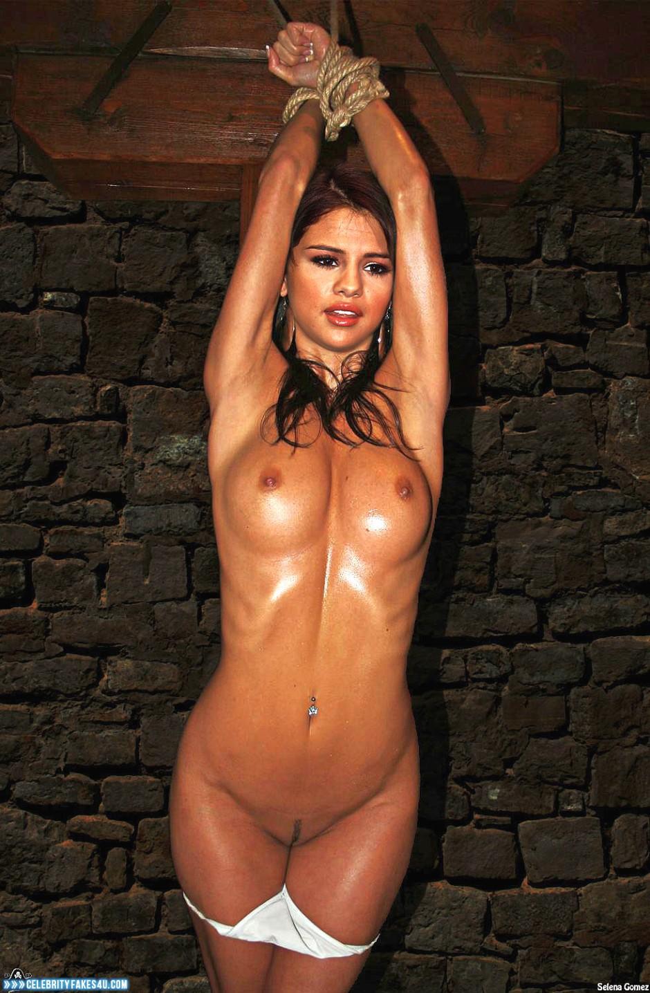 selena gomez hogtied nude