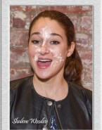 Shailene Woodley Facial Cumshot Fake 001