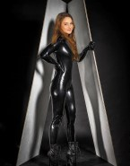 Shailene Woodley Hot Outfit Latex Nude Fake 001