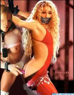 Shakira Gagged Anal Toy Porn Fake 001