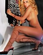 Shakira Sideboob Horny Nude Fake 001