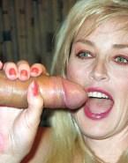 Sharon Stone Blowjob Handjob Sex 001
