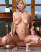 Sian Williams No Underwear Vagina Legs Spread Nude 001