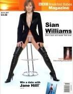 Sian Williams Sideboob Magazine Cover Nudes 001