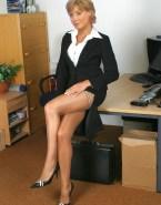 Sian Williams Stockings Sexy Legs Porn 001