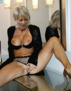 Sophie Davant Flashing Boobs Move Panties Aside Nsfw 001