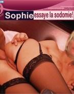 Sophie Davant Move Panties Aside Anal Sex 001