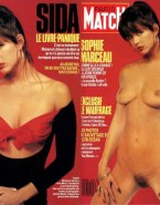 Sophie Marceau Magazine Cover Naked 001