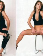 Sophie Marceau Without Panties Legs Spread Pussy Naked 001