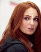 Sophie Turner Facial Cumshot Fake-003