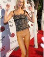 Stacy Keibler No Underwear Red Carpet Event 001