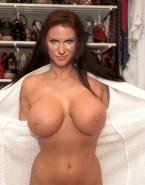 Stephanie Mcmahon Leaked Exposing Boobs Nude 001