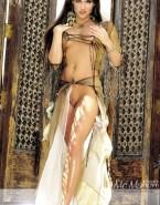 Stephanie Mcmahon Sexy Legs Pinching Nipples Porn 001