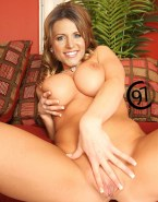 Stephanie Mcmahon Squeezing Tits Spread Pussy Naked 001