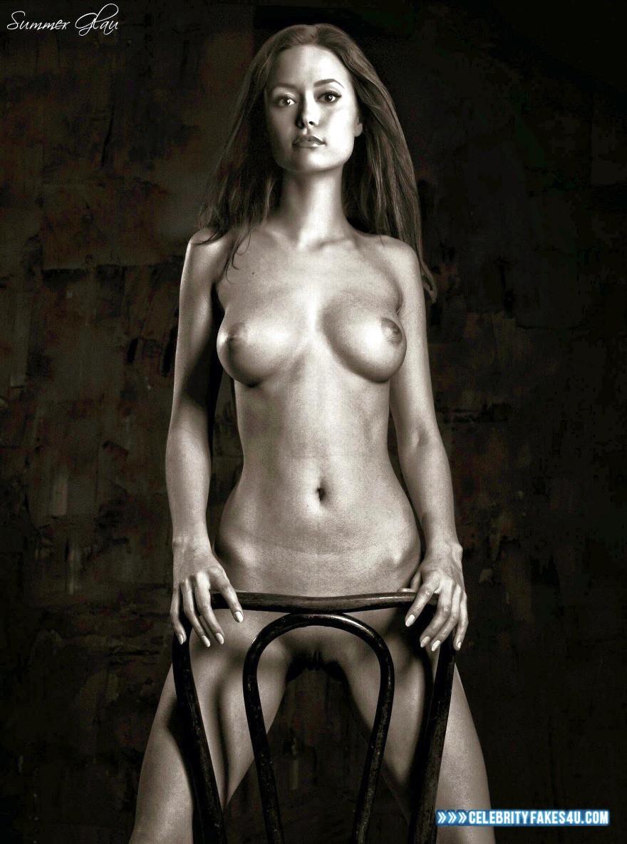 Summer Glau Nude Body Tits  Celebrity Fakes U