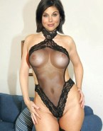 Tiffany Amber Thiessen Lingerie Perfect Tits Nsfw 001